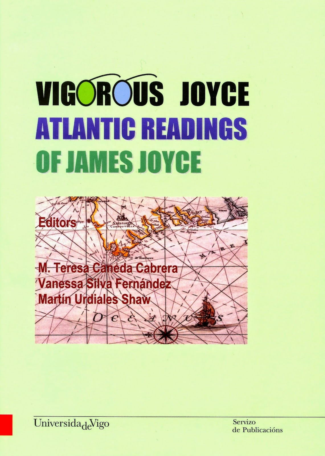 "Cover of the book ""Vigorous Joyce"""
