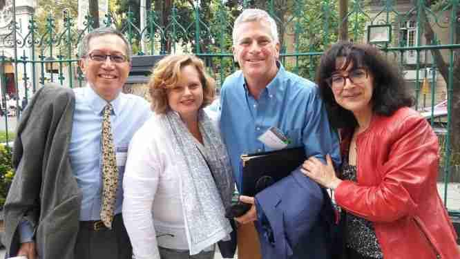 Vincent J. Cheng, Maria McGarrity, Greg Winston and Teresa Caneda