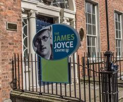 James Joyce centre front